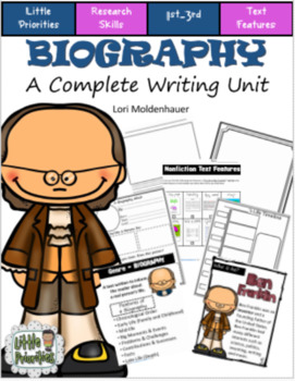 Biography - Complete Writing Unit