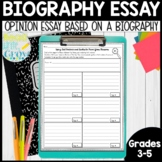 Biography Essays: Opinion Writing Mini-Unit