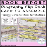 Biography Flip Book 3rd & 4th Grade
