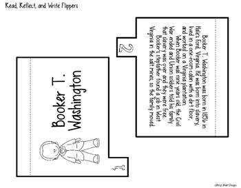 Biography Flipper: Booker T. Washington