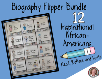 Black History Month: 12 Inspirational African-American Flipper Bundle