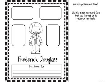 Biography Flipper: Frederick Douglass