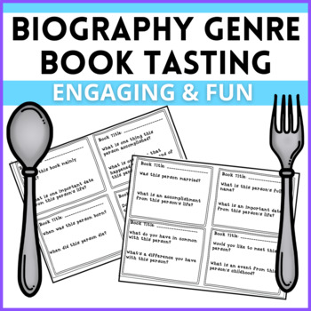 Biography Genre Book Tasting! An introduction or review to the biography genre!