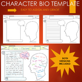 Biography Graphic Organizer Journal Research Template