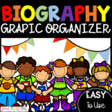 Biography Graphic Organizer / Project or Report Template /