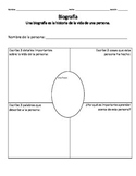 Biography Graphic Organizer- Spanish