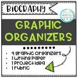 Biography Graphic Organizers