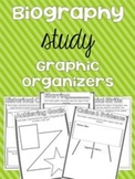 Biography Graphic Organizers (CCSS for Fifth Grade)