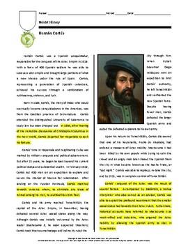 Biography: Hernán Cortés