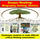 Author, Biography and History PowerPoint: Textual Connections
