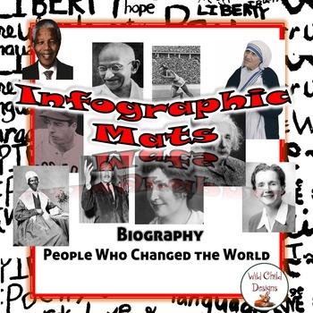 Biography Infographic Nonfiction Mats