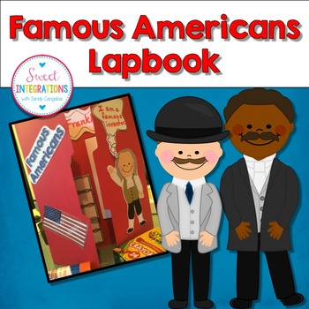 BIOGRAPHY - FAMOUS AMERICANS LAPBOOK FOR ANY BIOGRAPHY