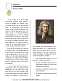 Biography: Sir Isaac Newton (distance learning option)