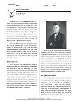Biography: John Brown