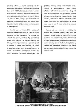 Biography: John Calvin