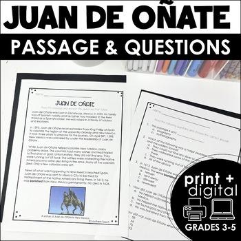 FREEBIE Juan de Onate Biography