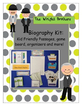 Biography Kit- Orville and Wilbur Wright