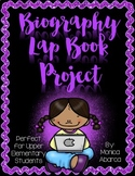 Biography Lap Book Project