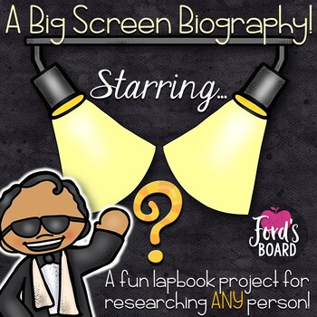 Biography Lapbook - A Fun Project for Researching ANY Person!