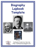 Biography Lapbook Template