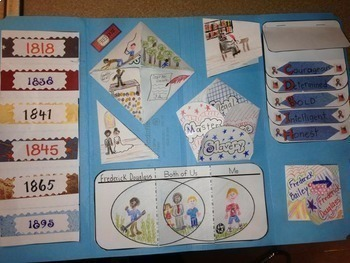 Biography Lapbook to Research Any Person - CCSS 1.W.7,   2.W.7,   3.W.7