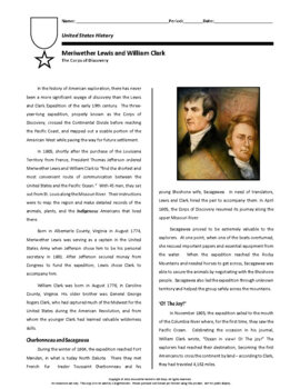Biography: Lewis and Clark