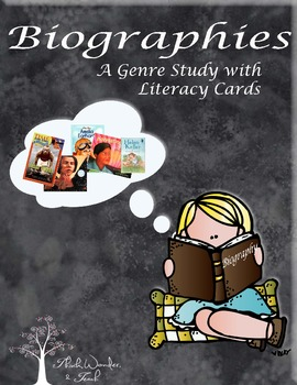 Biography Literacy Cards (CCSS 4)