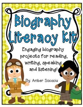 Biography Literacy Kit