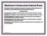 Biography Literature Circle Pack