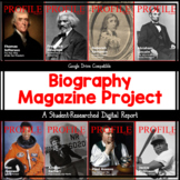 Biography Magazine Project