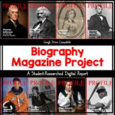 DIGITAL:  Biography Magazine Project