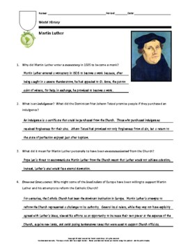 Biography: Martin Luther