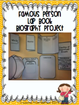Biography Mega Pack- Research Investigations and Writing Unit