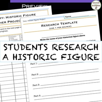 Historic Journal Project for Any Unit