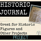 Journal Project for Any Unit EDITABLE  Updated