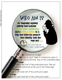 "Biography Mini-Project - The ""Who Am I"" Biography Mystery"