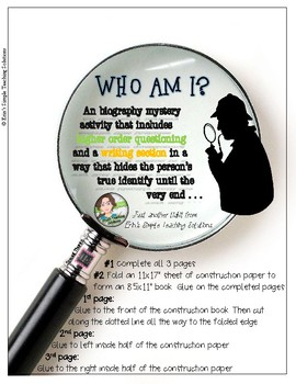 """Biography Mini-Project - The """"Who Am I"""" Biography Mystery"""