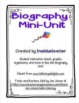 Biography Mini-Unit