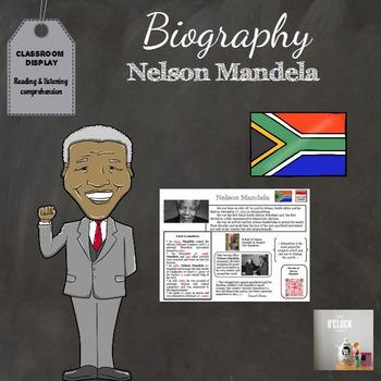 Biography : Nelson Mandela