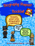 Biography Report Booklet