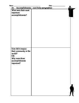 Biography Notetaker and Report Organizer