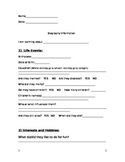 Biography Outline