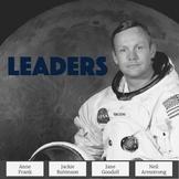 Biography Passages & Questions Emphasizing Leadership Traits Set 1