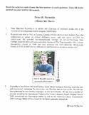 Biography: Peter H. Reynolds/Reading Passage