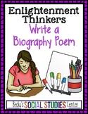 Biography Poem of an Enlightenment Philosopher