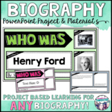 Biography PowerPoint Project: Digital Learning