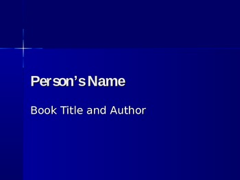 Biography Powerpoint