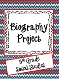 Biography Project-5th Grade Social Studies
