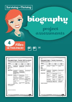 BIOGRAPHY Project Assessments