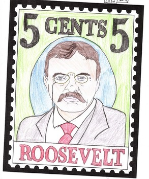 Biography Project - Commemorative Stamp (with Student Samples)